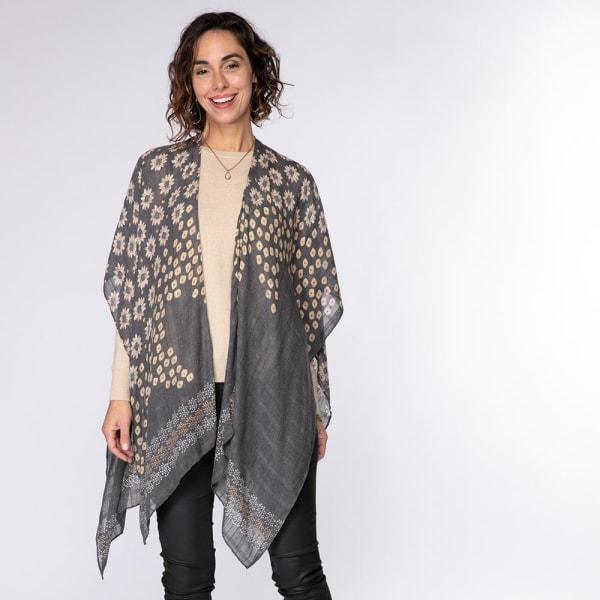 Millie Black Kimono Wrap