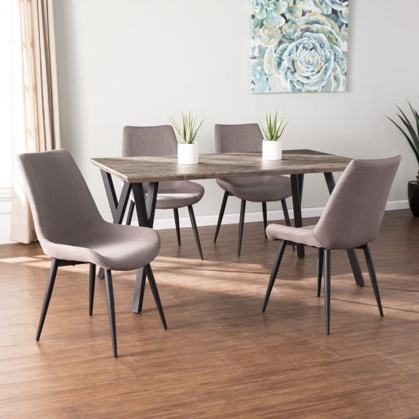 Mattia Dining Chairs 2Pc Set