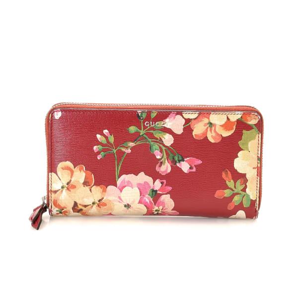Gucci Blooms Zip Around Wallet