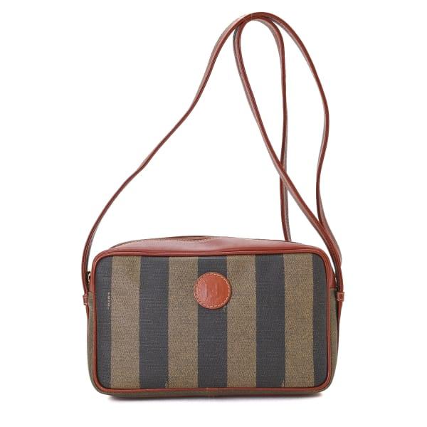 Fendi Pequin Crossbody Bag