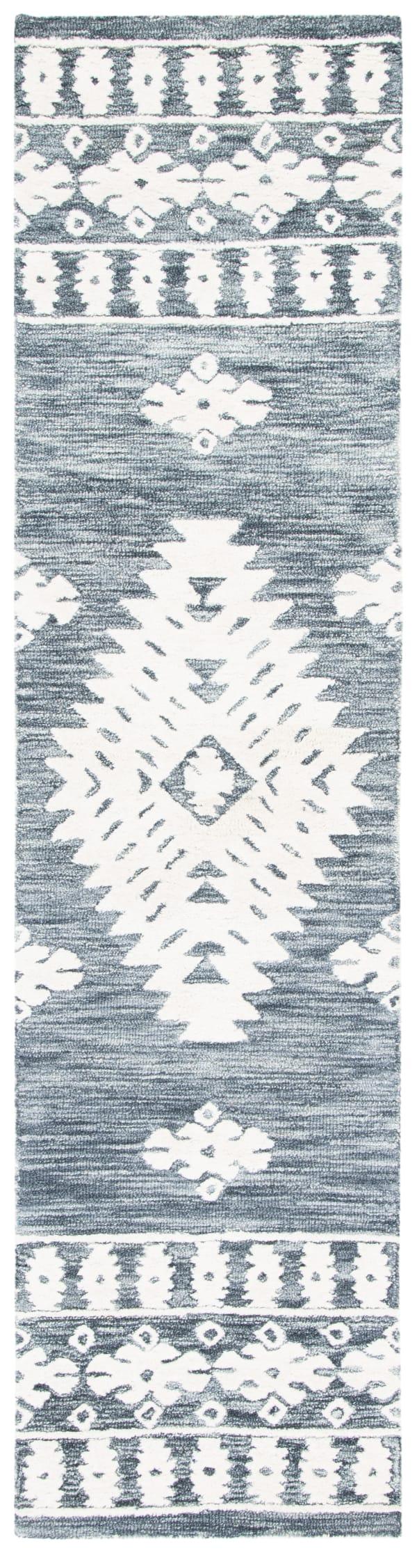 Vail Dark Gray & Ivory Wool Rug