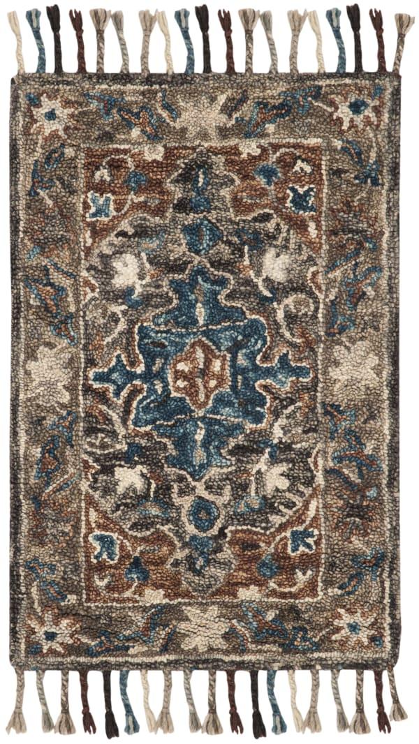 Safavieh Vail Gray & Brown Wool Rug