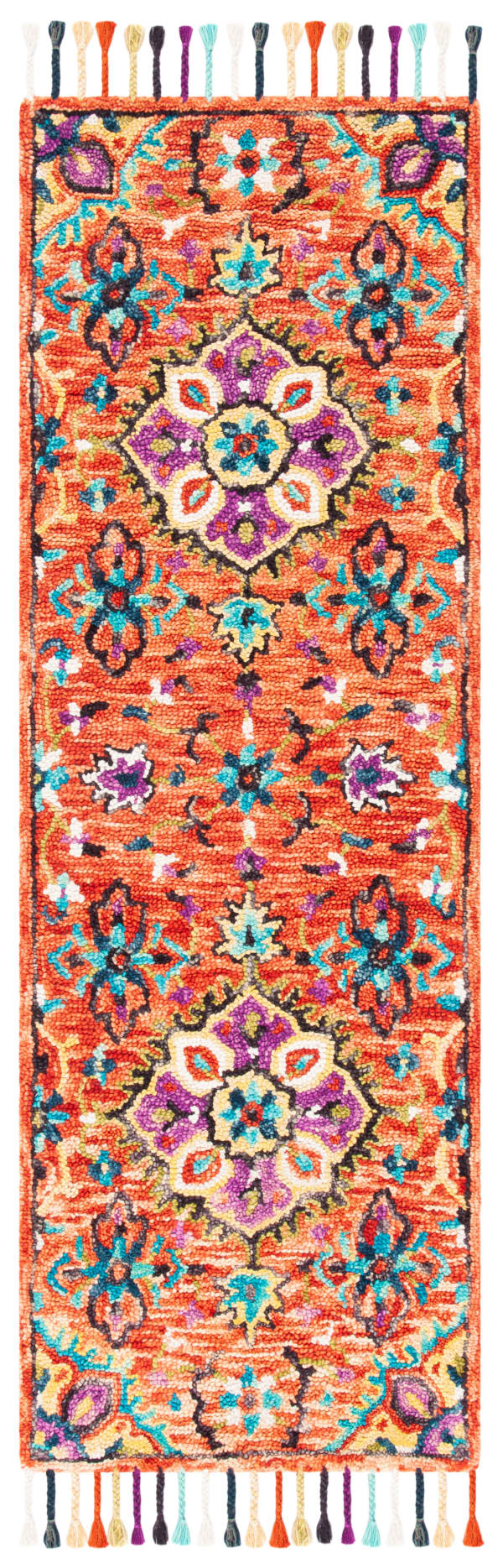 Vail Red & Gold Wool Rug