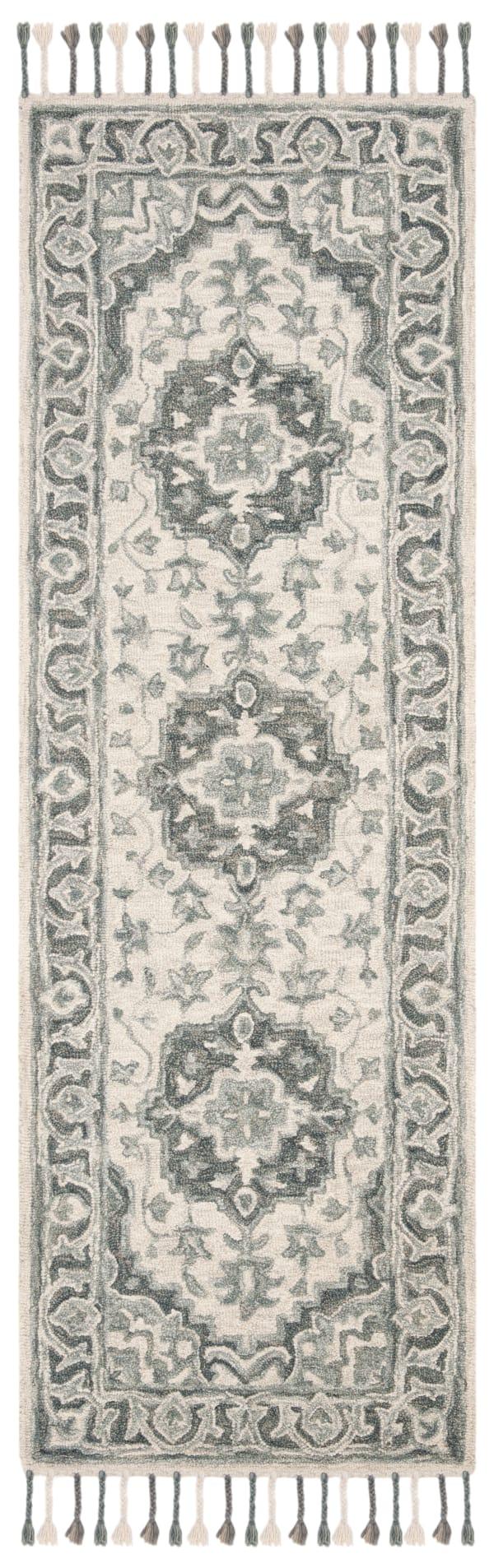 Vail Gray & Light Gray Wool Rug