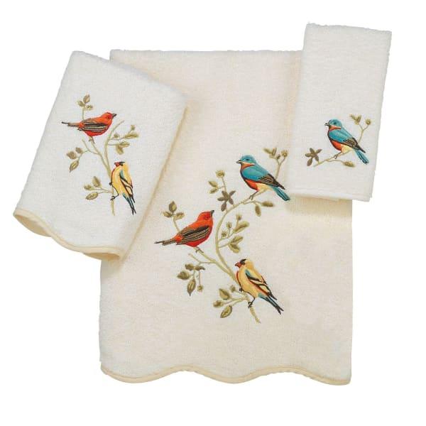 Prem Songbirds 3 Pc Towel Set
