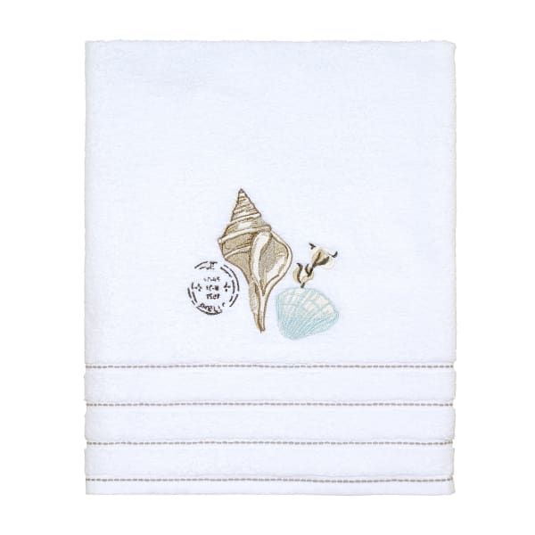 Farmhouse Shell Bath Towel