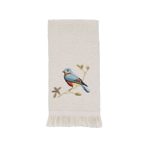Gilded Birds Fingertip Towel
