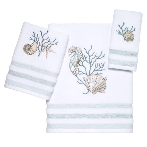 Coastal Terrazzo 3 Piece Towel Set