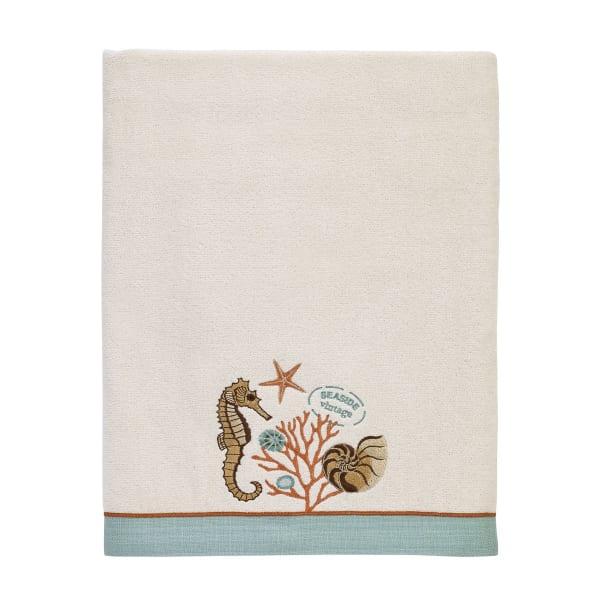 Seaside Vintage Bath Towel