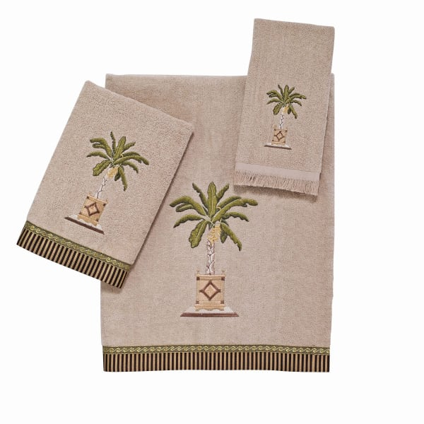 Banana Palm 3 Piece Towel Set
