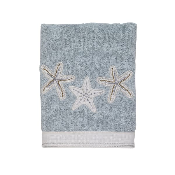Sequin Shells Hand Towel