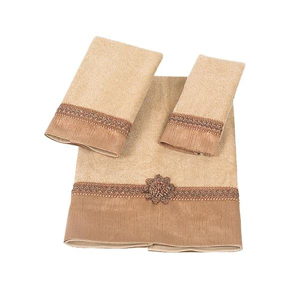 Braided Cuff 3 Piece Towel Set