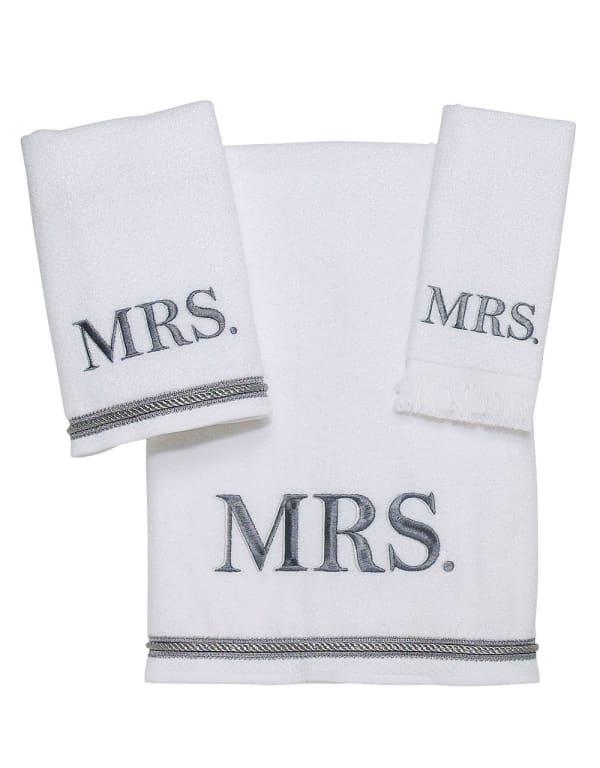 Mrs. 3-Piece Towel Set
