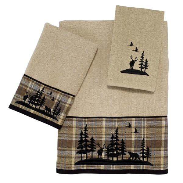 Woodville 3 Piece Towel Set