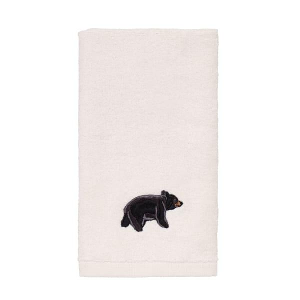Black Bear Lodge Fingertip Towel