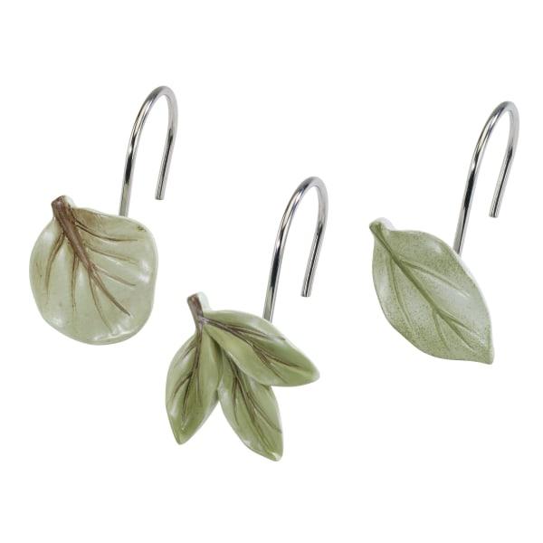 Ombre Leaves Shower Hooks