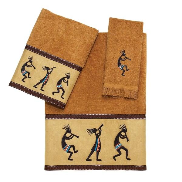Kokopelli 3 Pieces Towel Set