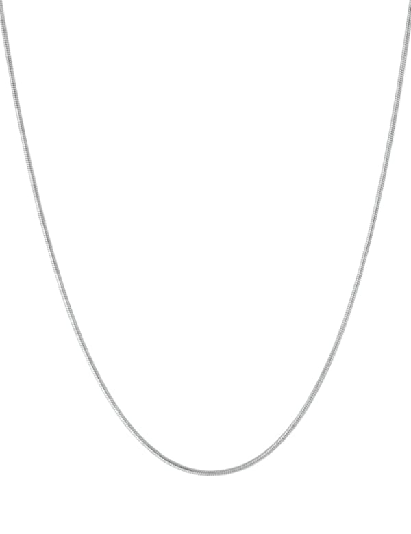 """Sterling Silver 18"""" Snake Chain Necklace"""