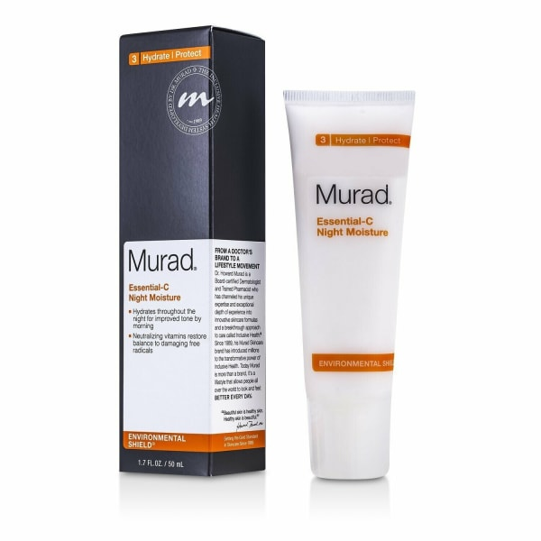 Murad Men's Essential-C Night Moisture Balms & Moisturizer
