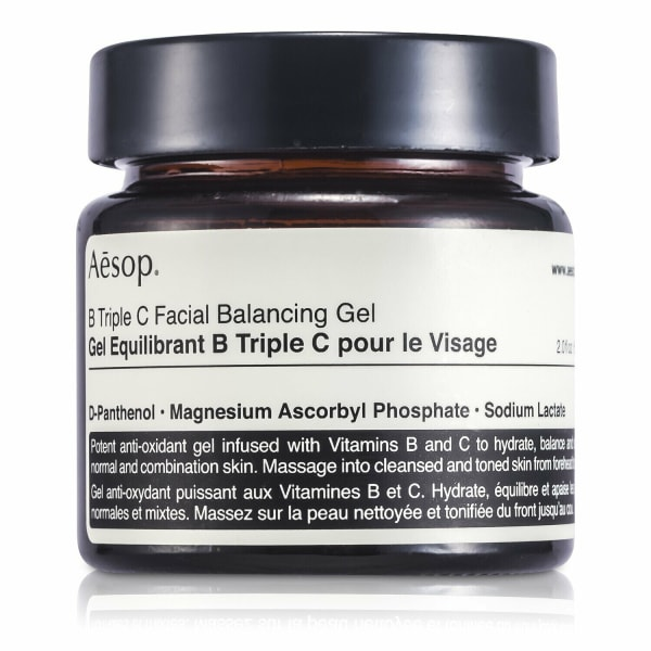 Aesop Men's B Triple C Facial Balancing Gel Balms & Moisturizer