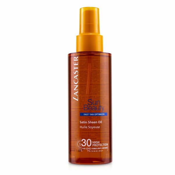 Lancaster Women's Sun Beauty Satin Sheen Oil Fast Tan Optimizer Spf30 Body Sunscreen