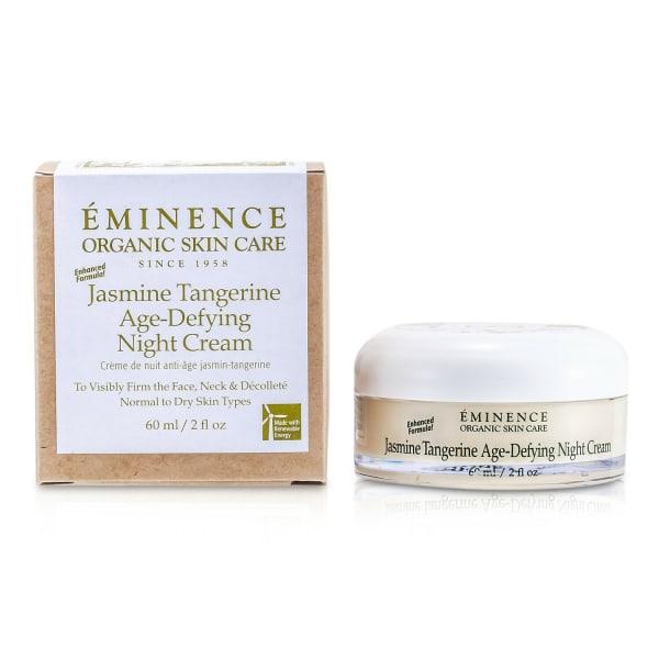 Eminence Men's For Normal To Dry Skin Jasmine Tangerine Age-Defying Night Cream Balms & Moisturizer