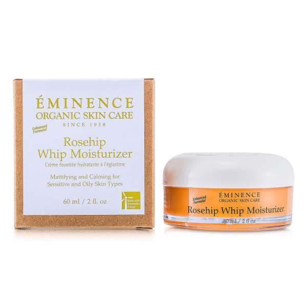 Eminence Men's For Sensitive & Oily Skin Rosehip Whip Moisturizer Balms