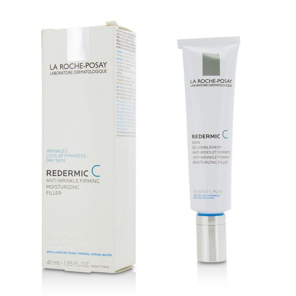 La Roche Posay Men's Redermic C Daily Sensitive Skin Anti-Aging Fill-In Care Balms & Moisturizer