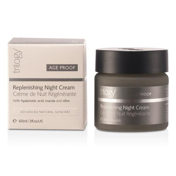 Trilogy Men's Age-Proof Replenishing Night Cream Balms & Moisturizer