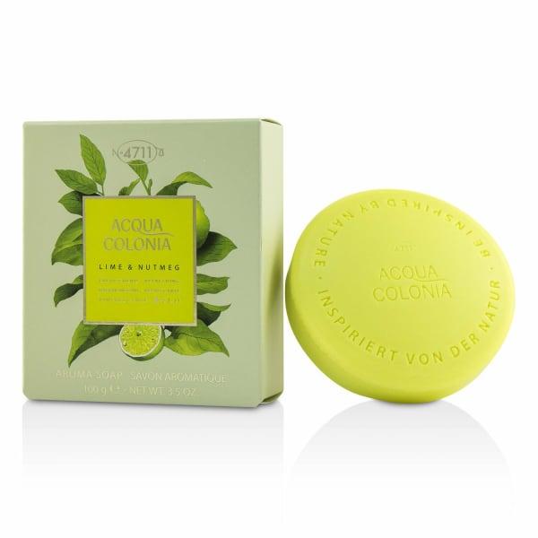 4711 Women's Acqua Colonia Lime & Nutmeg Aroma Soap Bath And Shower Aids