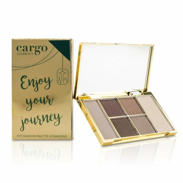 Cargo Women's Enjoy Your Journey Eyeshadow Palette Brush Set