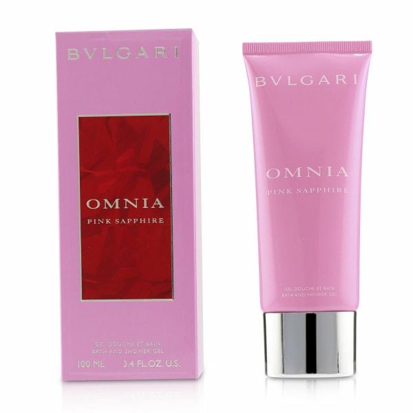 Bvlgari Women's Omnia Pink Sapphire Bath & Shower Gel Soap