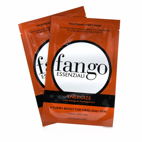Borghese Men's Fango Essenziali Energize Treatment Sheet Masks Mask