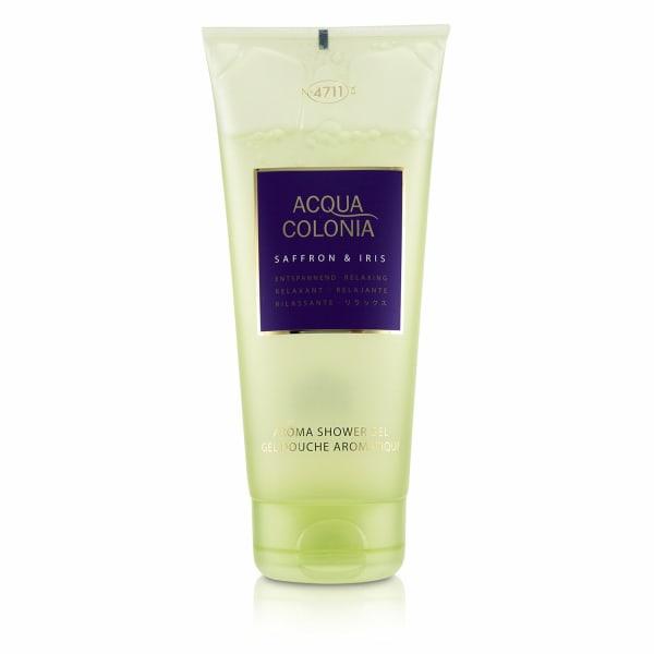 4711 Women's Acqua Colonia Saffron & Iris Aroma Shower Gel Soap