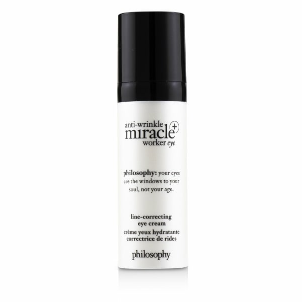 Philosophy Women's Anti-Wrinkle Miracle Worker Eye+ Line-Correcting Eye Cream Gloss