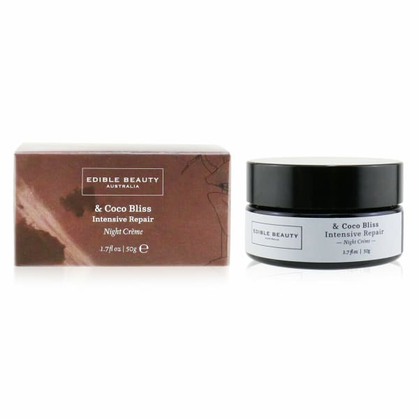 Edible Beauty Men's & Coco Bliss Intensive Repair Night Creme Balms Moisturizer