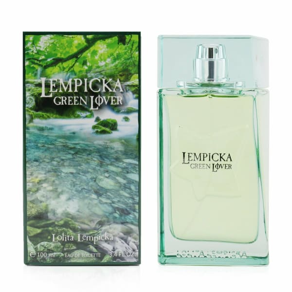 Lolita Lempicka Men's Green Lover Eau De Toilette Spray