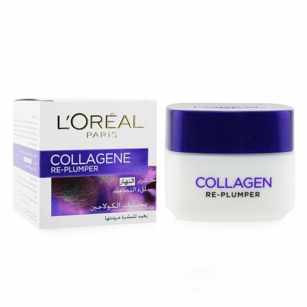 L'oreal Men's Collagene Re-Plumper Day Cream Balms & Moisturizer