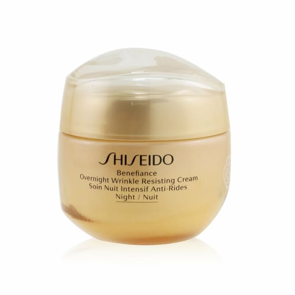Shiseido Men's Benefiance Overnight Wrinkle Resisting Cream Balms & Moisturizer