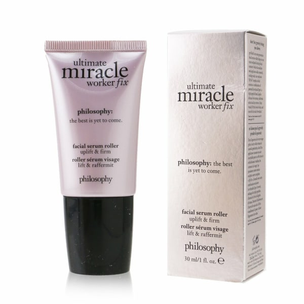 Philosophy Men's Uplift & Firm Ultimate Miracle Worker Fix Facial Serum Roller Balms Moisturizer