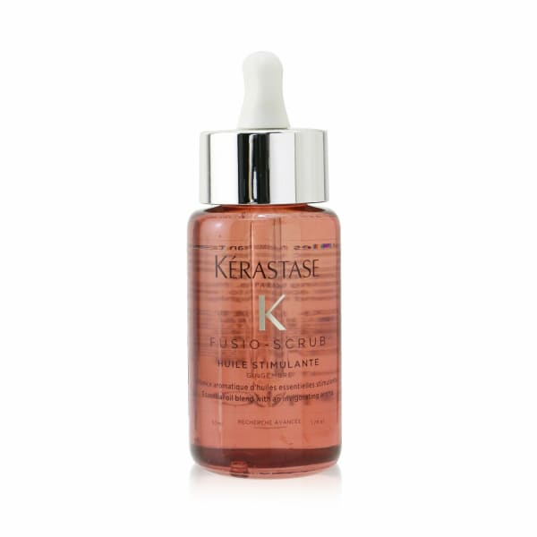 Kerastase Men's Fusio-Scrub Huile Stimulante Essential Oil Blend With An Invigorating Aroma Hair & Scalp Treatment