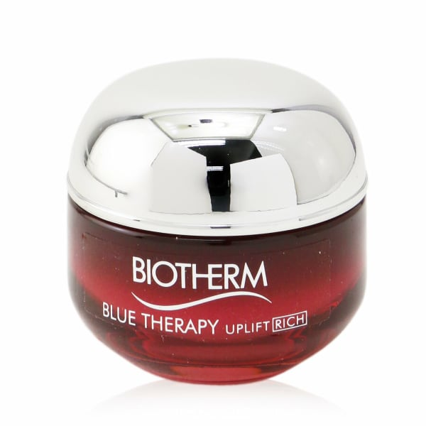 Biotherm Men's Dry Skin Blue Therapy Red Algae Uplift Firming & Nourishing Rosy Rich Cream Balms Moisturizer