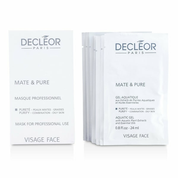 Decleor Women's Combination To Oily Skin (Salon Size) Mate & Pure Mask Vegetal Powder