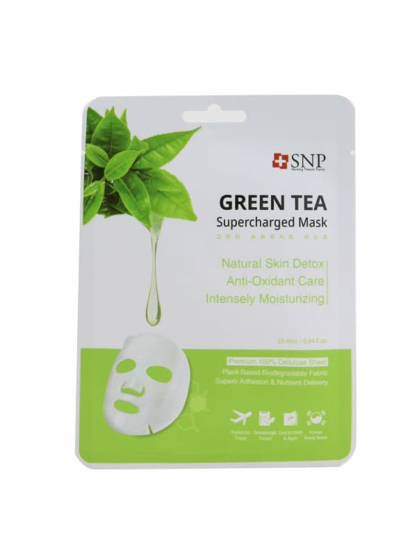 Snp Women's Green Tea Supercharged Mask