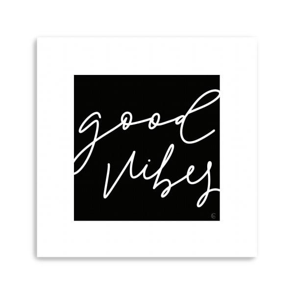 Good Vibes Canvas Giclee