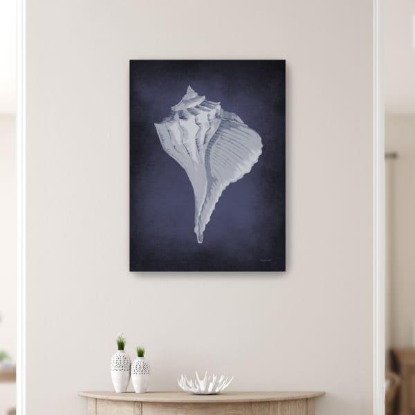 Blue Seashell II Canvas Giclee
