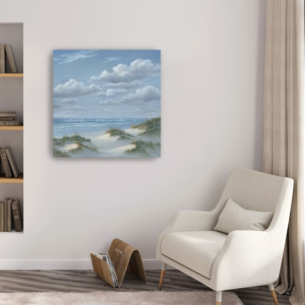 Shoreline III Canvas Giclee