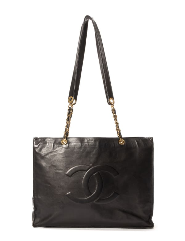 Chanel Chain Shopping Tote Bag