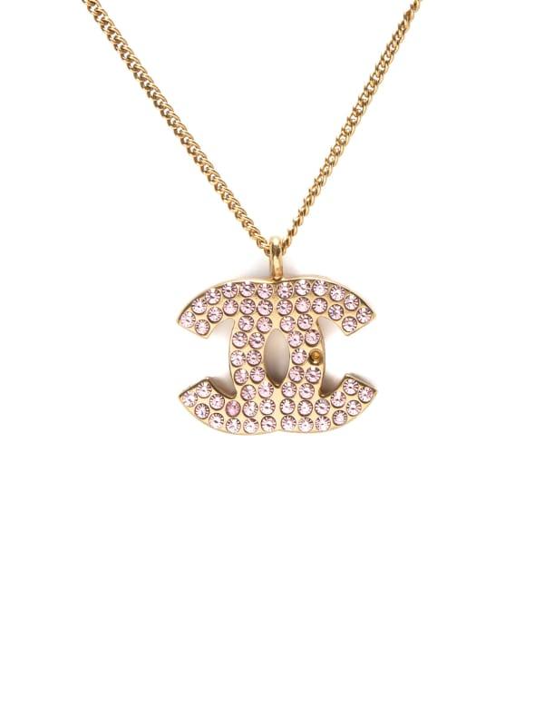 Chanel CC Logo Necklace 40cm
