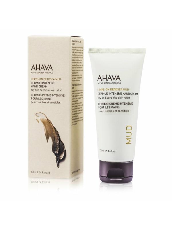 Ahava Women's Leave-On Deadsea Mud Dermud Intensive Hand Cream Lotion